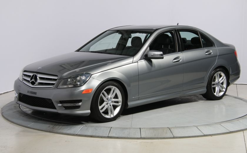 2013 Mercedes Benz C300 4MATIC CUIR TOIT NAV MAGS BLUETOOTH #2