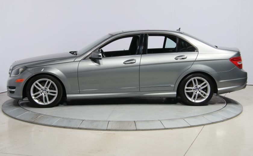 2013 Mercedes Benz C300 4MATIC CUIR TOIT NAV MAGS BLUETOOTH #3
