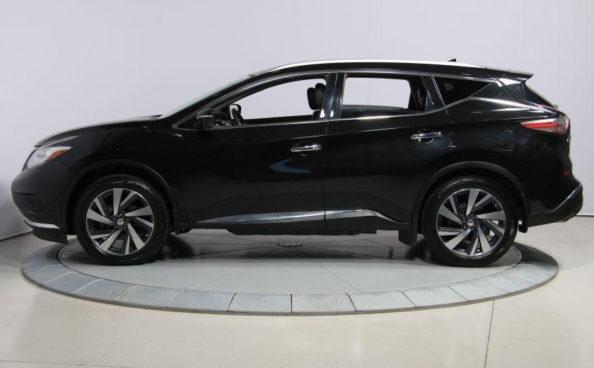 2015 Nissan Murano Platinum AWD CUIR TOIT PANO NAV MAGS BLUETOOTH #3