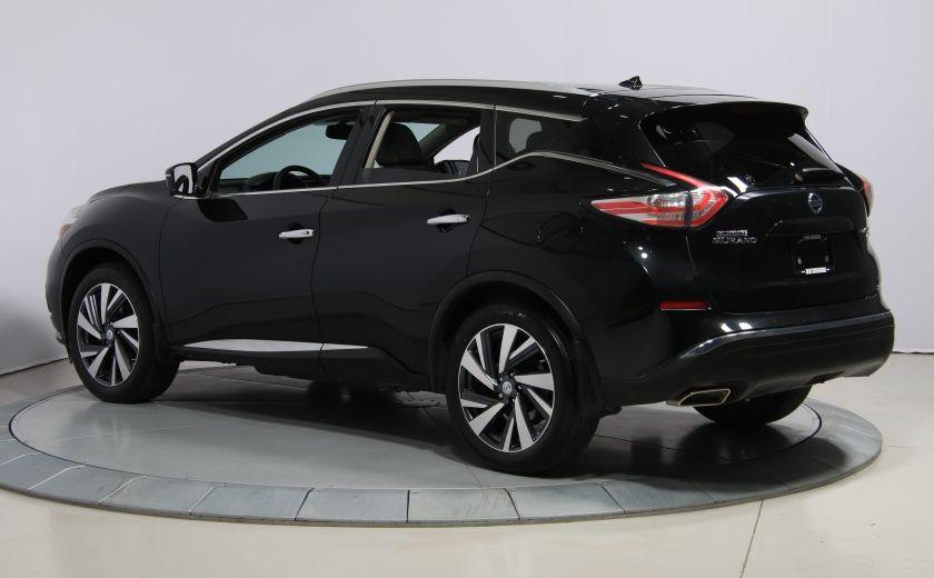 2015 Nissan Murano Platinum AWD CUIR TOIT PANO NAV MAGS BLUETOOTH #4
