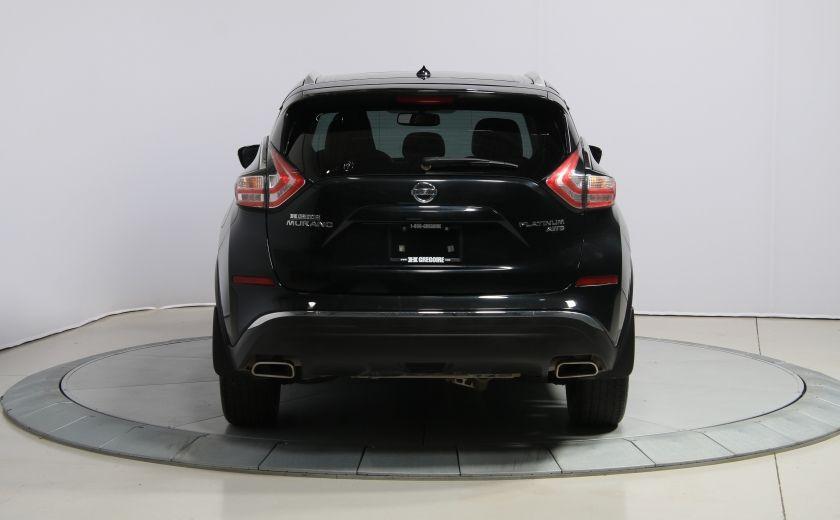 2015 Nissan Murano Platinum AWD CUIR TOIT PANO NAV MAGS BLUETOOTH #5