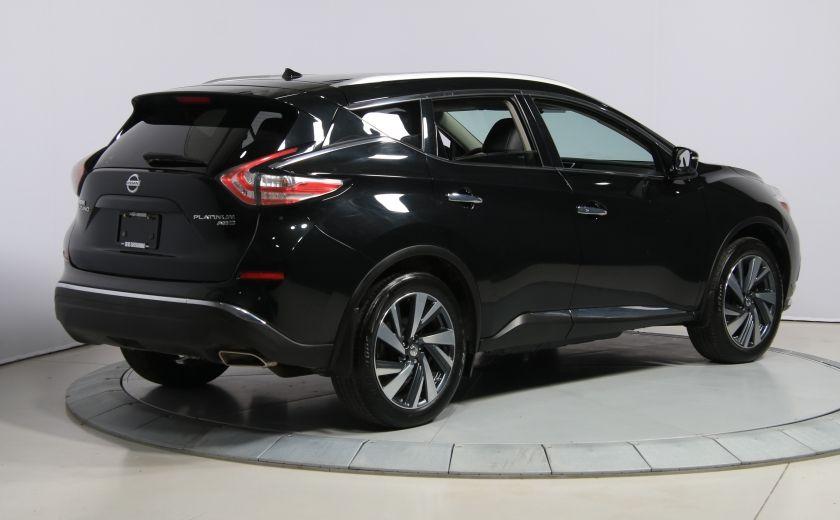 2015 Nissan Murano Platinum AWD CUIR TOIT PANO NAV MAGS BLUETOOTH #6