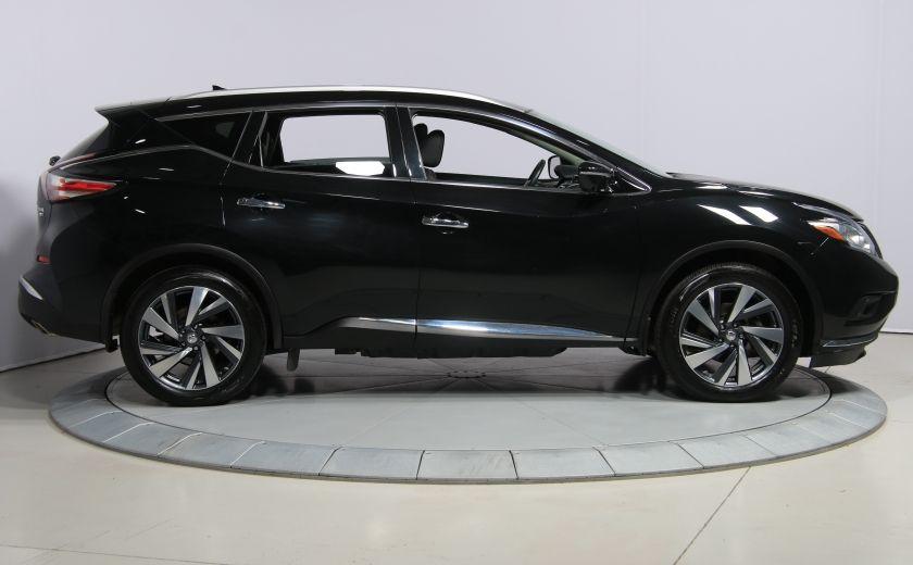 2015 Nissan Murano Platinum AWD CUIR TOIT PANO NAV MAGS BLUETOOTH #7