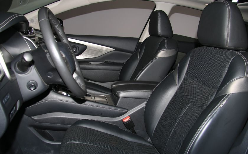 2015 Nissan Murano Platinum AWD CUIR TOIT PANO NAV MAGS BLUETOOTH #9
