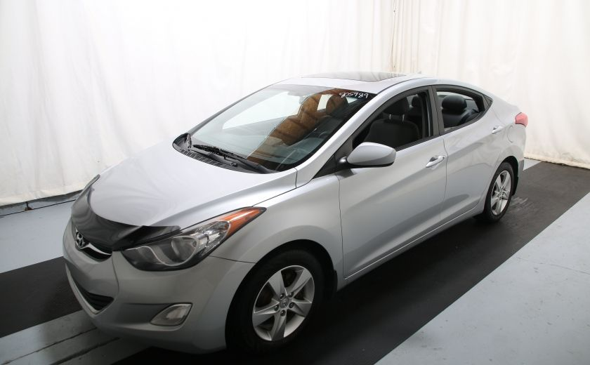 2012 Hyundai Elantra GLS AUTO A/C TOIT MAGS #2
