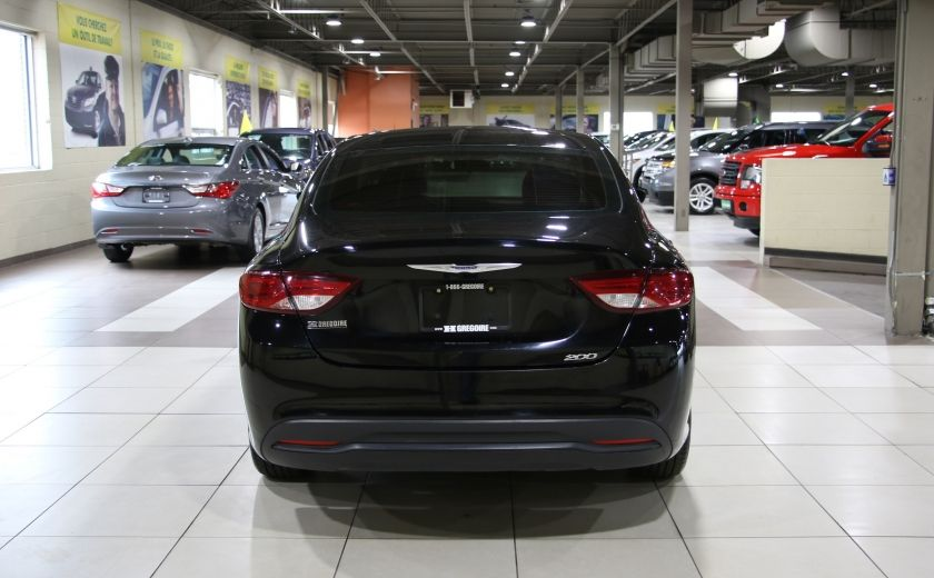 2015 Chrysler 200 LX AUTO A/C GR ELECT MAGS #5
