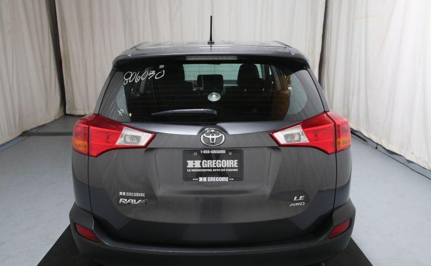 2015 Toyota Rav 4 LE AWD AUTO A/C GR ELECT BLUETOOTH #4