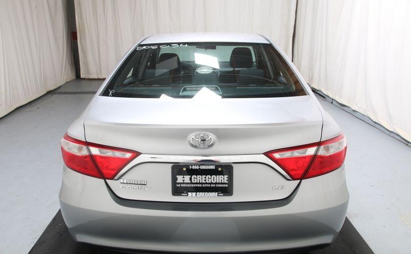 2015 Toyota Camry LE AUTO A/C GR ELECT BLUETOOTH CAM.RECUL #4
