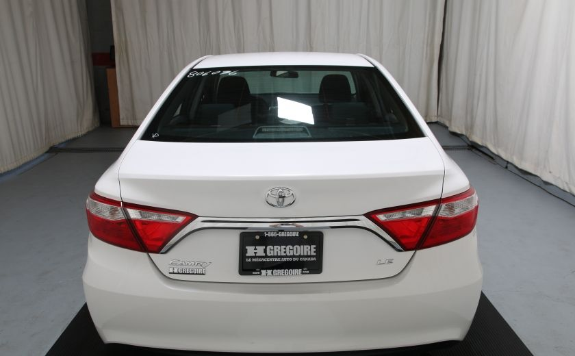 2015 Toyota Camry LE AUTO A/C GR ELECT BLUETOOTH CAM.RECUL #6