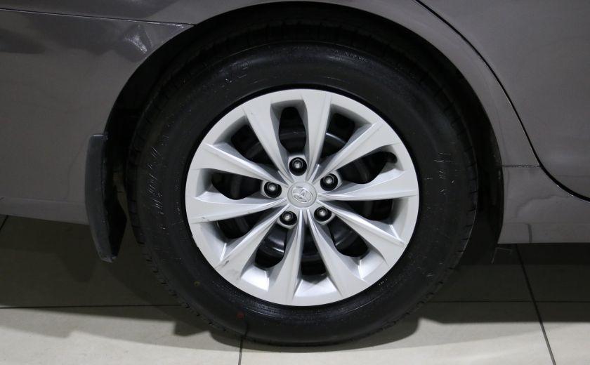 2015 Toyota Camry LE AUTO A/C GR ELECT BLUETOOTH CAM.RECUL #26