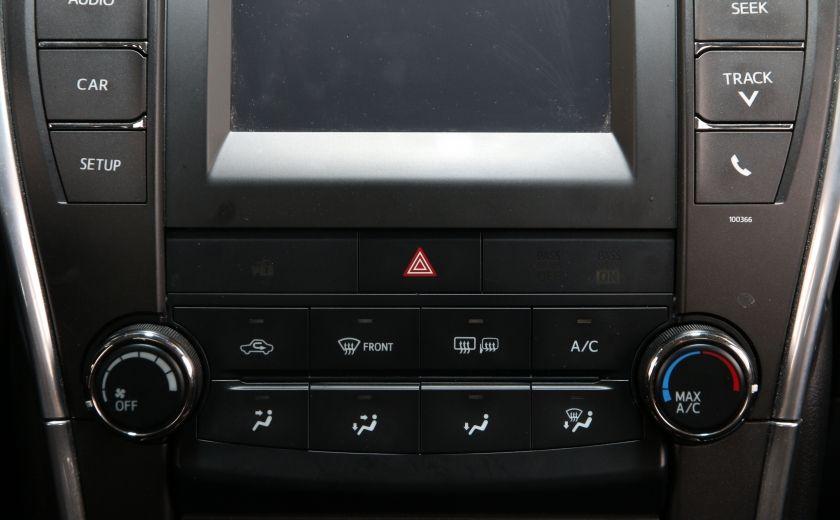 2015 Toyota Camry LE AUTO A/C GR ELECT BLUETOOTH CAM.RECUL #12