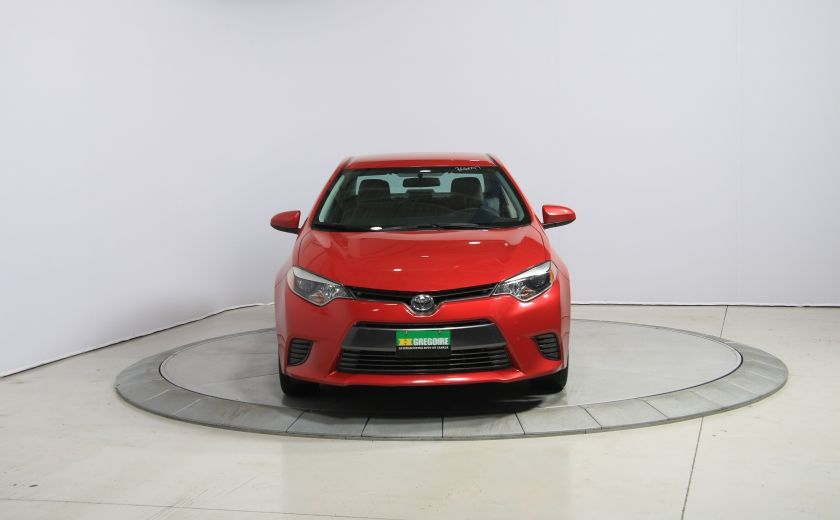 2015 Toyota Corolla LE AUTO A/C GR ELECT BLUETOOTH CAM.RECUL #1