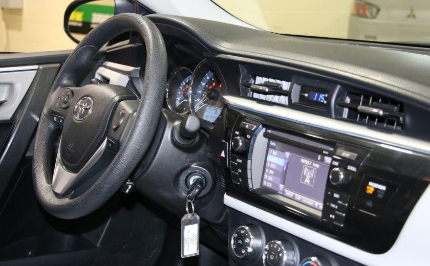 2015 Toyota Corolla LE AUTO A/C GR ELECT BLUETOOTH CAM.RECUL #23