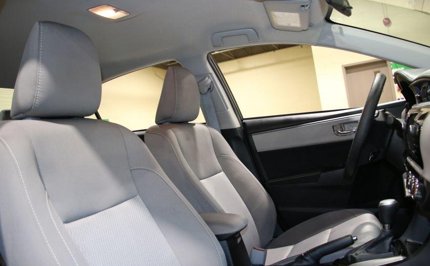2015 Toyota Corolla LE AUTO A/C GR ELECT BLUETOOTH CAM.RECUL #24