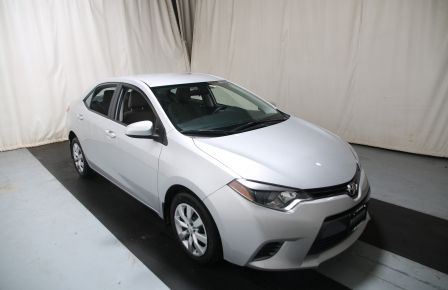 2015 Toyota Corolla LE AUTO A/C GR ELECT BLUETOOTH CAM.RECUL in Laval
