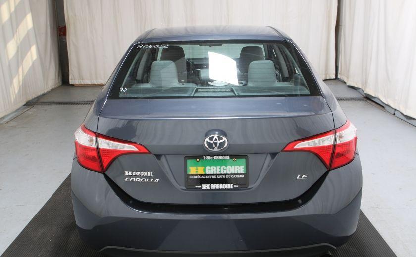 2015 Toyota Corolla LE AUTO A/C CAMERA RECUL BLUETOOTH #4