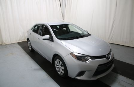 2015 Toyota Corolla LE AUTO A/C GR ELECT BLUETOOTH CAM.RECUL in Montréal