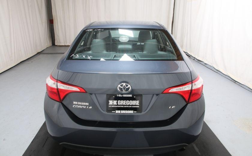 2015 Toyota Corolla LE #4
