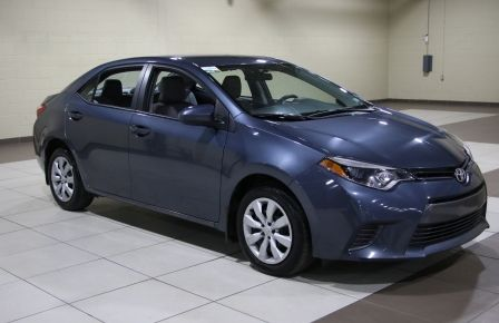 2015 Toyota Corolla LE AUTO A/C BLUETOOTH CAMERA RECUL in Saguenay