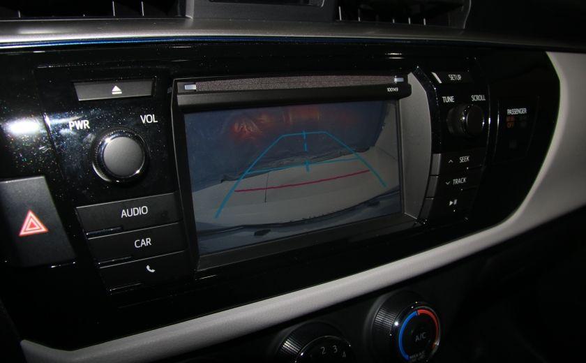 2015 Toyota Corolla LE AUTO A/C GR ELECT BLUETOOTH CAM.RECUL #16