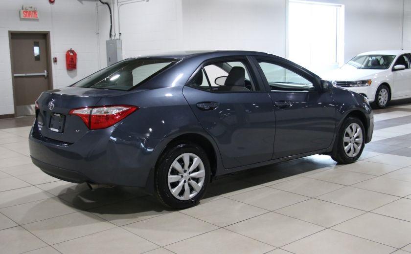 2015 Toyota Corolla LE AUTO A/C CAMERA RECUL BLUETOOTH #5