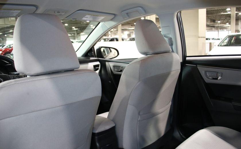 2015 Toyota Corolla LE AUTO A/C CAMERA RECUL BLUETOOTH #16