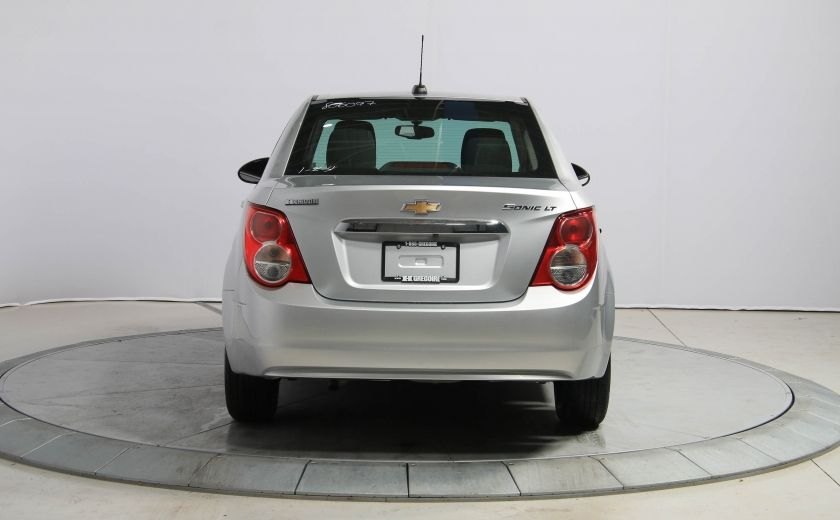 2015 Chevrolet Sonic LT AUTO A/C GR ELECT BLIETOOTH CAM.RECUL #5