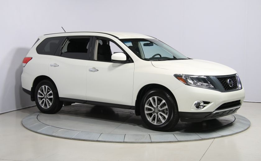 2016 Nissan Pathfinder S 4WD A/C GR ELECT MAGS 7PASSAGERS #0