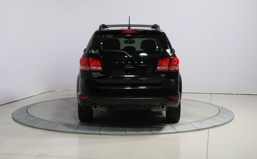 2014 Dodge Journey R/T AWD AUTO A/C CUIR TOIT MAGS DVD 7 PASS #4