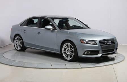 2011 Audi A4 2.0T Premium AWD AUTO A/C TOIT  MAGS BLUETOOTH in Victoriaville