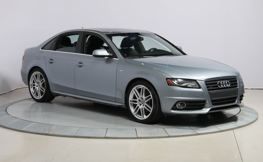 2011 Audi A4 2.0T Premium AWD AUTO A/C TOIT  MAGS BLUETOOTH #0
