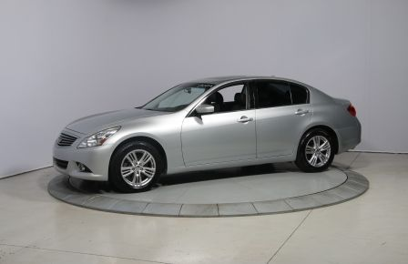 2011 Infiniti G25 Luxury AWD AUTO CUIR TOIT NAVIGATION MAGS BLUETOOT in Brossard