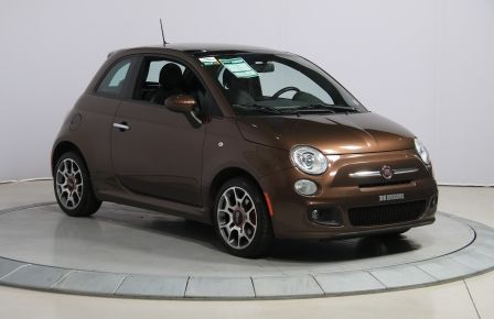 2012 Fiat 500 Sport A/C TOIT MAGS  BLUETOOTH à New Richmond