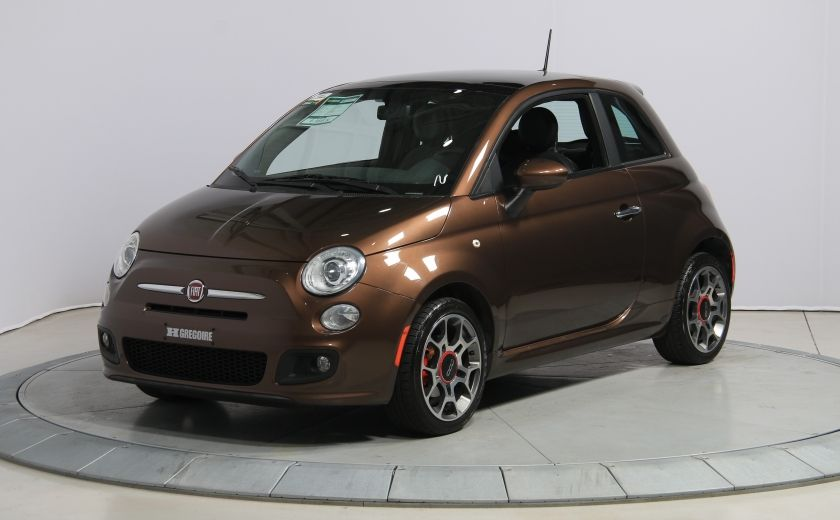 2012 Fiat 500 Sport A/C TOIT MAGS  BLUETOOTH #2