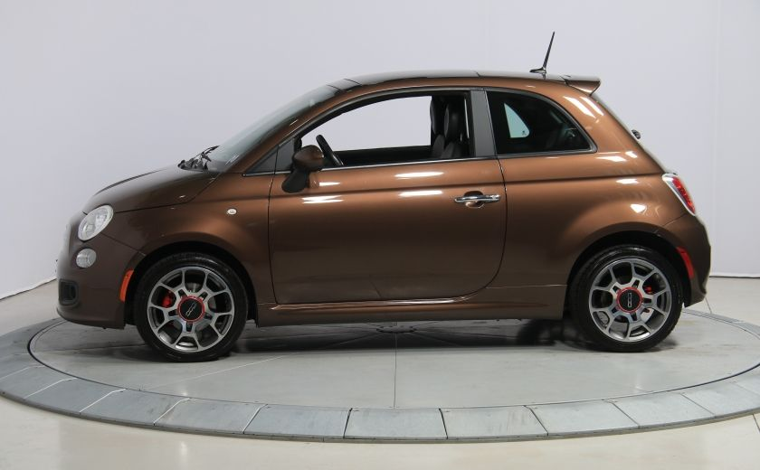 2012 Fiat 500 Sport A/C TOIT MAGS  BLUETOOTH #3
