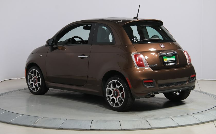 2012 Fiat 500 Sport A/C TOIT MAGS  BLUETOOTH #4