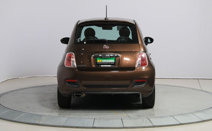 2012 Fiat 500 Sport A/C TOIT MAGS  BLUETOOTH #5