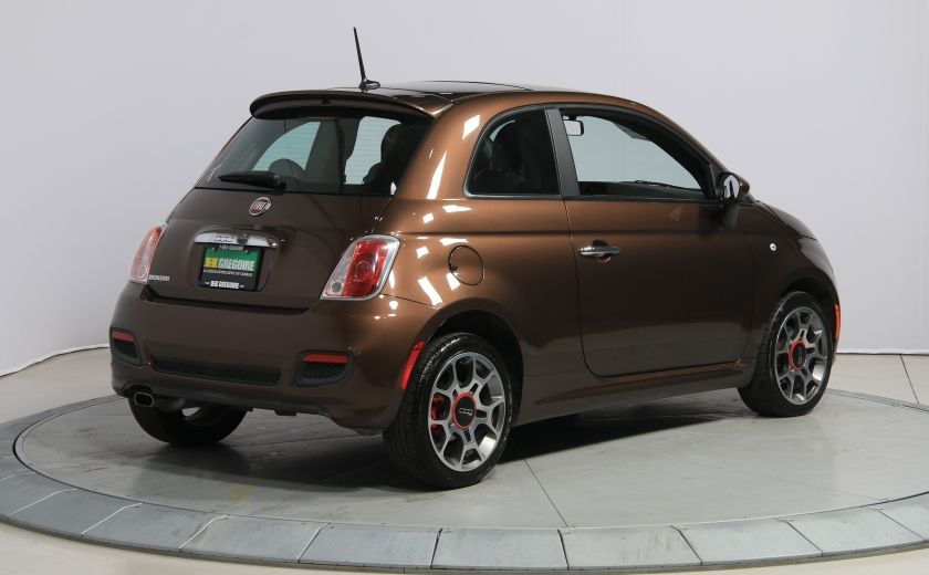 2012 Fiat 500 Sport A/C TOIT MAGS  BLUETOOTH #6