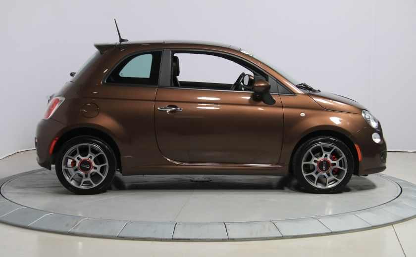2012 Fiat 500 Sport A/C TOIT MAGS  BLUETOOTH #7