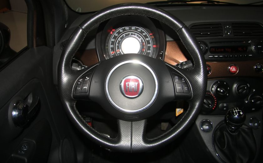 2012 Fiat 500 Sport A/C TOIT MAGS  BLUETOOTH #14