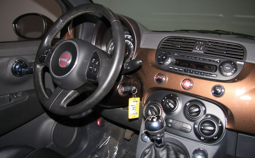 2012 Fiat 500 Sport A/C TOIT MAGS  BLUETOOTH #21