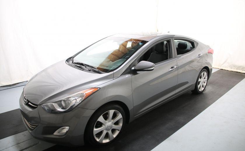 2013 Hyundai Elantra Limited AUTO CUIR TOIT MAGS BLUETOOTH #2