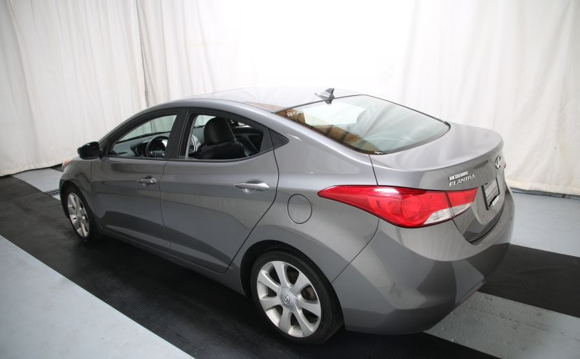2013 Hyundai Elantra Limited AUTO CUIR TOIT MAGS BLUETOOTH #3