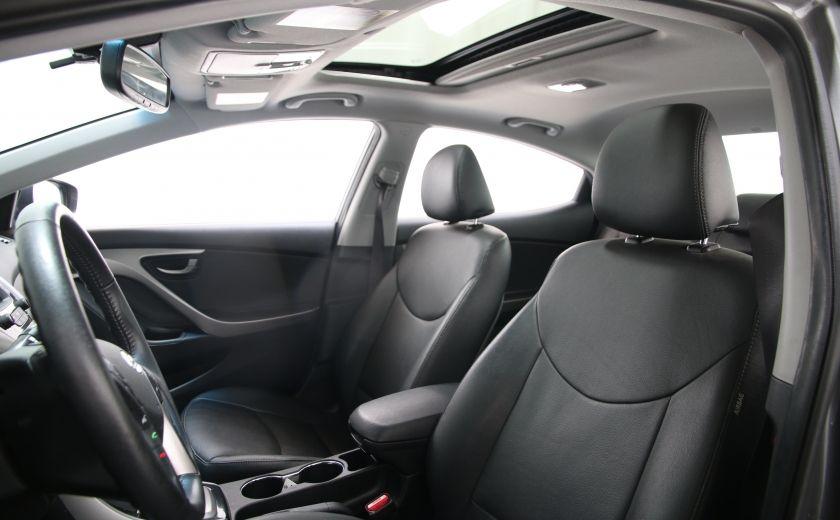 2013 Hyundai Elantra Limited AUTO CUIR TOIT MAGS BLUETOOTH #11
