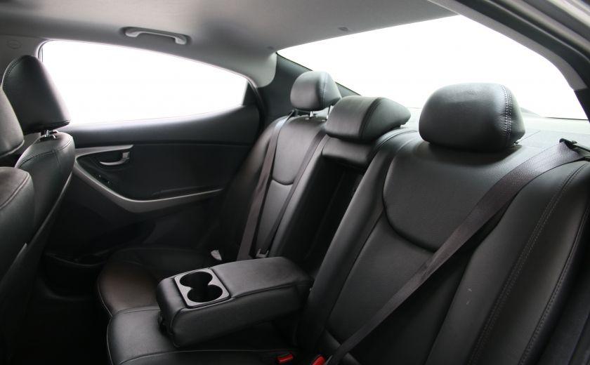 2013 Hyundai Elantra Limited AUTO CUIR TOIT MAGS BLUETOOTH #17