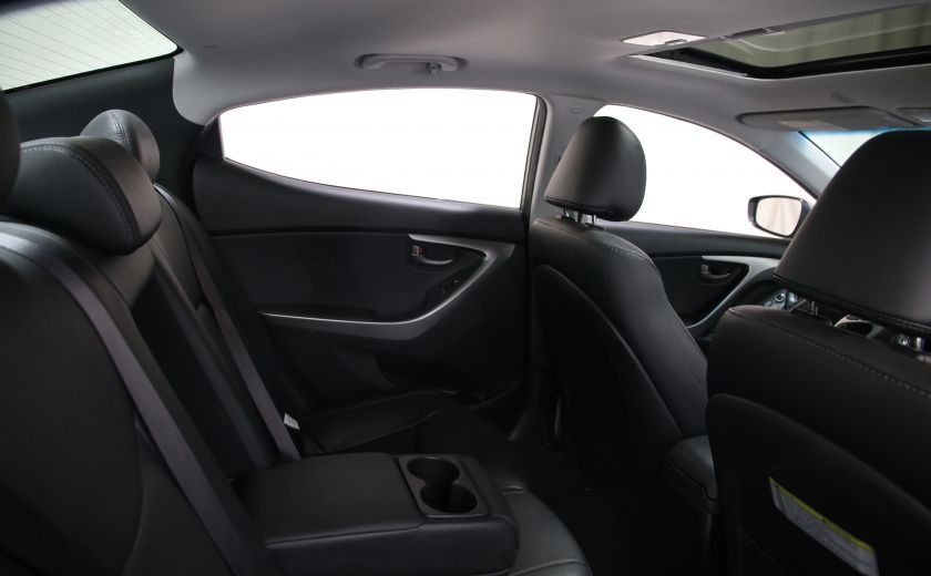 2013 Hyundai Elantra Limited AUTO CUIR TOIT MAGS BLUETOOTH #18