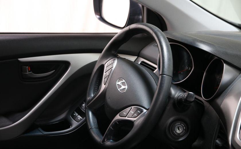 2013 Hyundai Elantra Limited AUTO CUIR TOIT MAGS BLUETOOTH #21