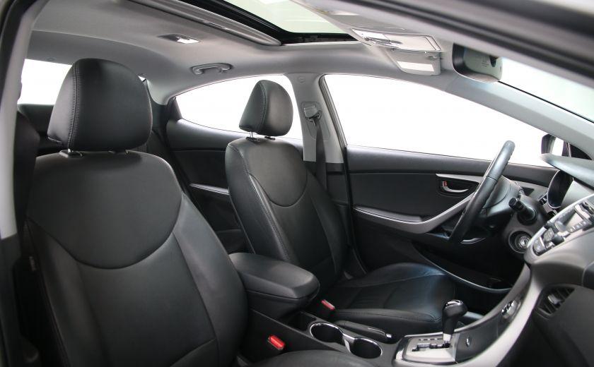 2013 Hyundai Elantra Limited AUTO CUIR TOIT MAGS BLUETOOTH #22