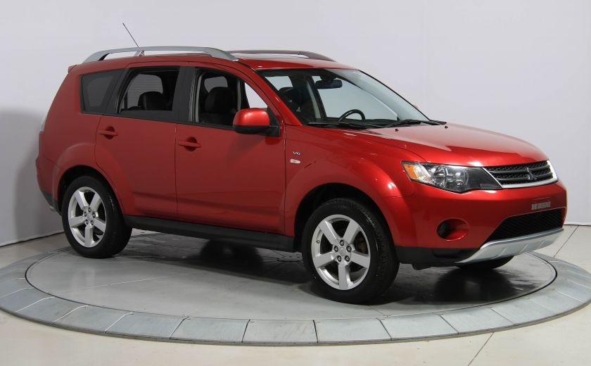 2009 Mitsubishi Outlander XLS 4WD CUIR TOIT MAGS BLUETOOTH 7PASSAGERS #0