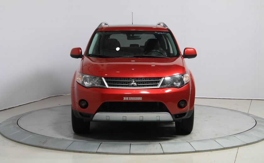 2009 Mitsubishi Outlander XLS 4WD CUIR TOIT MAGS BLUETOOTH 7PASSAGERS #1